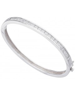 Bracelet chic zirconia in 925/1000 silver