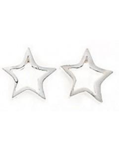 Earring star in 925/1000 silver