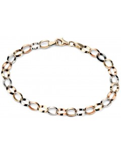 Bracelet luxury white Gold and 14-karat Gold