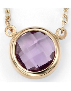 My-jewelry - D208uk - 9k amethyst Gold necklace