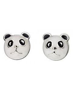 My-jewelry - D865uk - Sterling silver panda earring