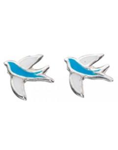 My-jewelry - D875uk - Sterling silver swallow earring