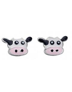 Earring Cow in 925/1000 silver