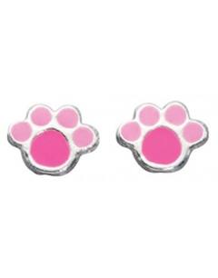 My-jewelry - D883uk - Sterling silver paw teddy earring
