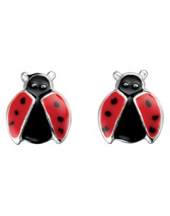 My-jewelry - D918uk - Sterling silver ladybug earring