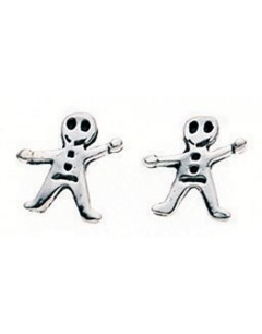 My-jewelry - D725uk - Sterling silver happy earring