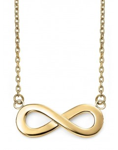My-jewelry - D223auk - 9k infinity Gold necklace
