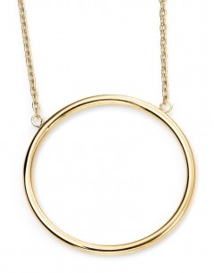 My-jewelry - D224auk - 9k circle Gold necklace