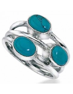 My-jewelry - D2525uk - Sterling silver turquoise ring