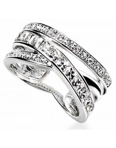 My-jewelry - D2634uk - Sterling silver chic Ring