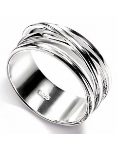 Chic ring in 925/1000 silver