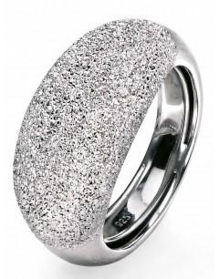 My-jewelry - D3206uk - Sterling silver diamond cut ring